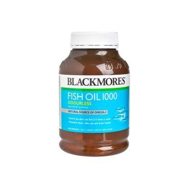 BLACKMORES - 無腥味魚油丸1000MG - 400'S